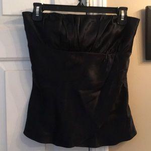 Ann Taylor Loft silk bustier top